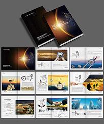 工业建筑宣传画册设计