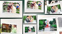 轻松回忆婚礼电子相册AE模板