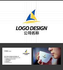 帆船LOGO标志设计