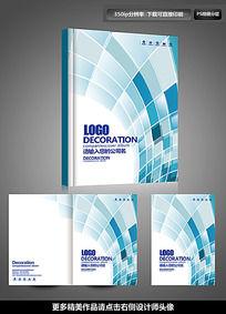 大气动感商务画册封面设计