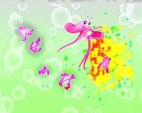 快乐小精灵粒子动画视频