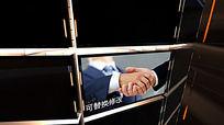 三维展示企业宣传AE模板