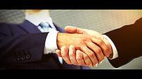 企业合作共赢AE模板