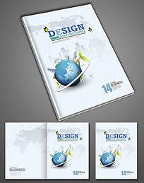 建筑科技画册封面