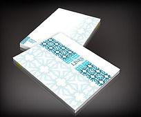 传统花纹画册封面