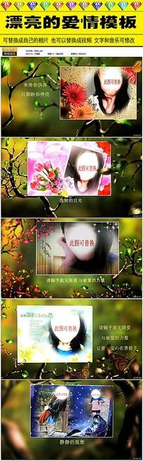 浪漫婚庆视频AE模版