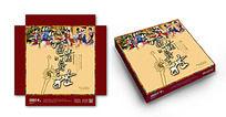 中秋月饼礼盒包装设计