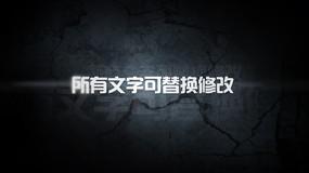 震撼字幕片头ae模板