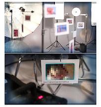摄影工作室环境背景照片展示
