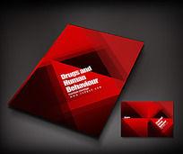 红色封面设计