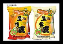 兰花豆包装袋设计