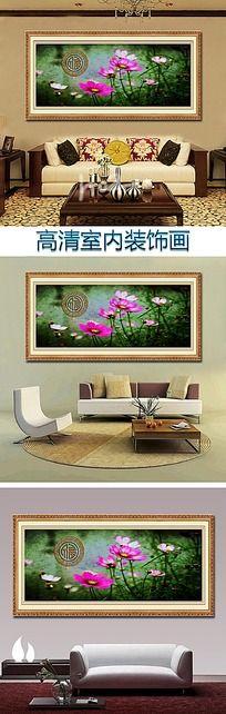 花卉油画福装饰画