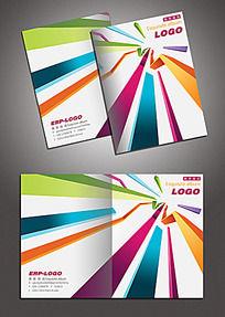 立体线条风格创意画册封面
