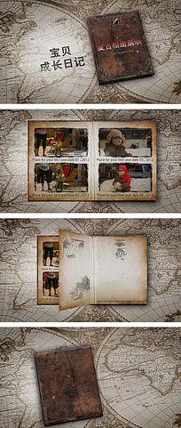 复古相册图文视频录像展示