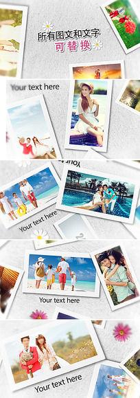 家庭纪念回忆相册ae模板图片