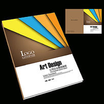 印刷色卡广告公司封面