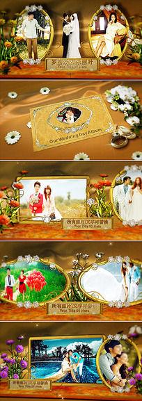 3d婚礼相册AE模板