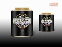 乌岽单枞茶叶罐装包装