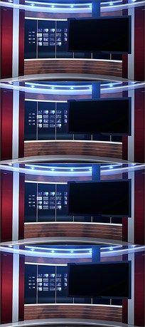 虚拟演播室高清视频背景