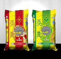 粒粒香大米包装设计