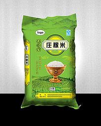庄稼米包装设计