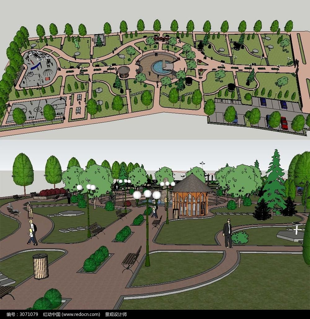 公园SU模型 公园SU草图 公园草图模型 公园景观模型 建筑模型 草图大师模型 sketchup模型 环艺建筑模型 SU模型 SKP 景观SU模型 设计模型 草图大师 景观模型 室外模型 3D设计模型 源文件