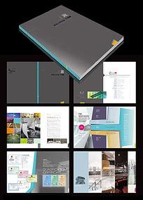 高档大气企业形象画册设计