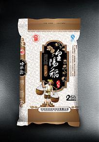 皇阳稻米袋包装设计