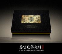 中国风补品包装盒