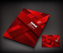红色商务封面设计