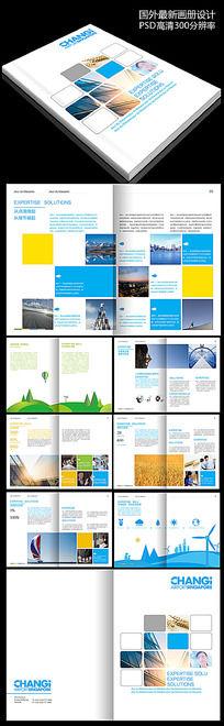 国外大气企业创意画册