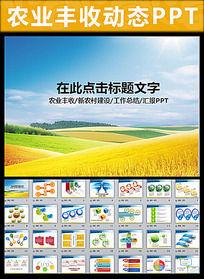 水稻粮食农业丰收PPT pptx