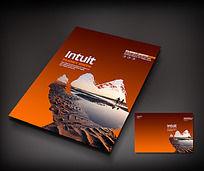 旅游风景宣传册封面