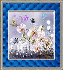 蝴蝶兰时尚家居装饰画