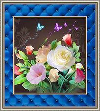 清新花卉装饰画