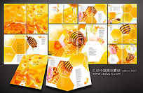蜂蜜画册 PSD