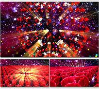 星空花海起舞舞台舞蹈LED视频背景