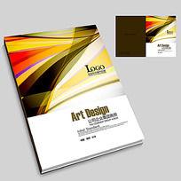 11款 金融投资产品企业宣传册封面PSD下载