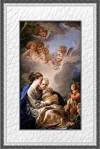12款 欧洲贵族油画装饰画