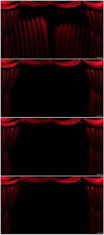 窗帘背景视频素材