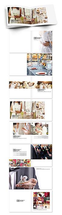 西方完美婚礼宣传画册