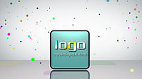 创意logo标志演绎片头ae模板