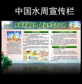 节约用水社区宣传展板