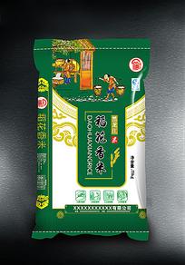 稻花香米包装设计