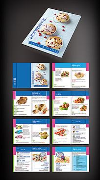 休闲美食画册
