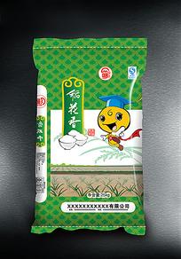 精品稻花香大米包装设计