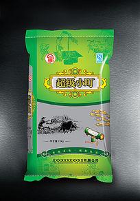 超级小町米大米袋子包装