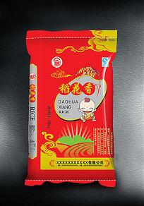 稻花香米袋子图片