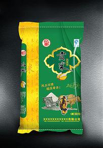 贡米米袋设计