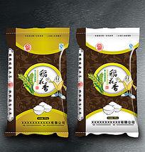 极品稻花香大米包装设计
